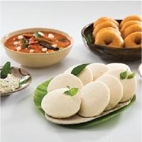 Idli, Madu Vada, curd Rice