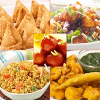 Chatpata Pack-    Mix Pakode, Mini Samosa, Chilli Paneer