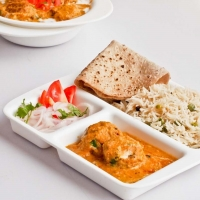 Executive Meal - Ghiya Kofta, Yellow Dal, Phulka