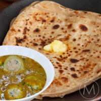 Misrii Special - Stuffed Aloo Paneer Curry, Rajma, Jeera rice, Seasonal veg