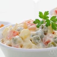 Russian Salad, Paneer Capsicum Chaat