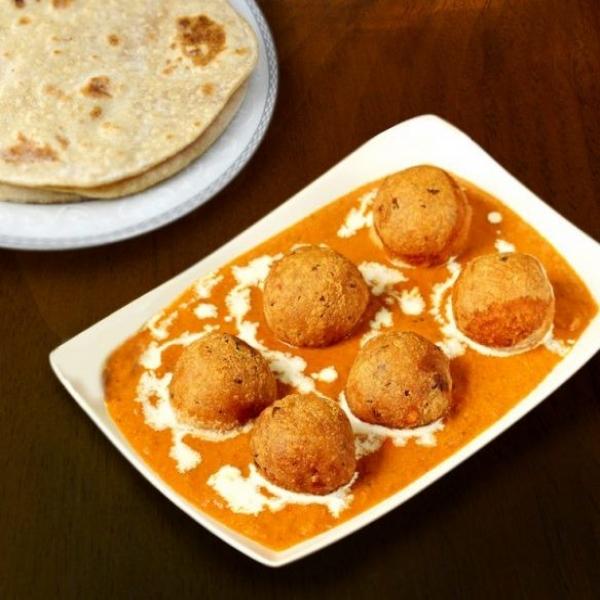 Royal Meal : Malai Kofta, Navratan Pulao,  Masoor Dal