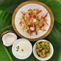 Lettuce Paneer Salad
