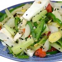 Paneer, Broccoli, Baby Corn Salad