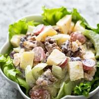Pear, Apple & Dates Salad